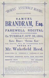 Advert for the Horns Assembly Rooms 712